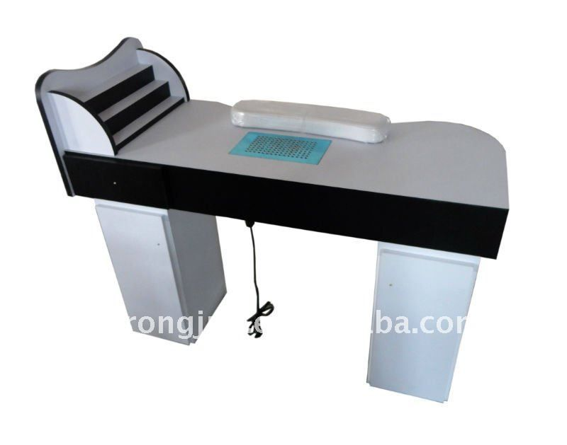 Tavolo Manicure ~ Manicure table square double vented lx for beauticians