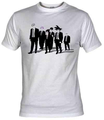 Camiseta Reservoir Warriors by Ddjvigo - Dragon Ball - Fanisetas.com ... 2726e581438