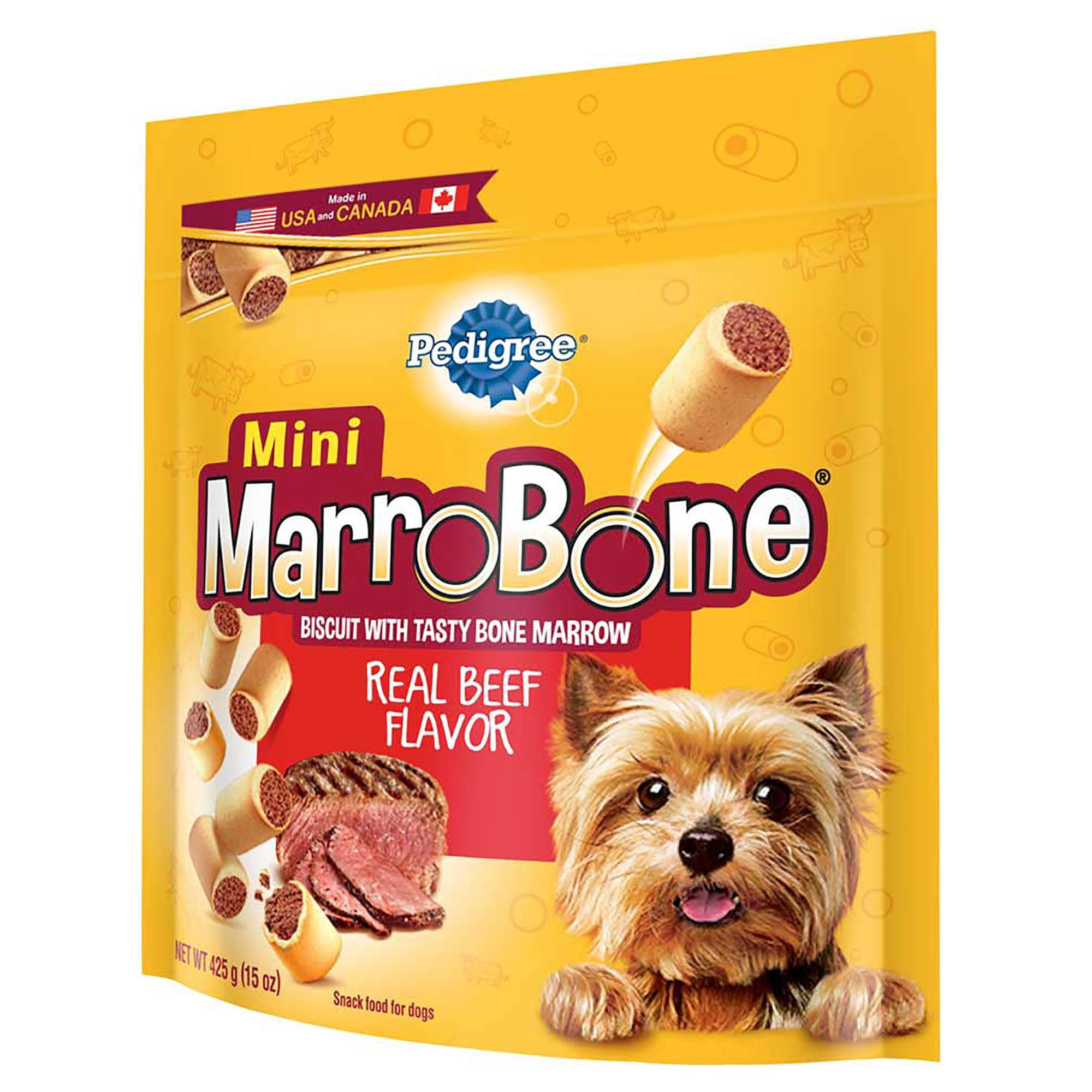 Pedigree Marrobone Toy Small Beef Flavor Treat 15oz Dog Snacks