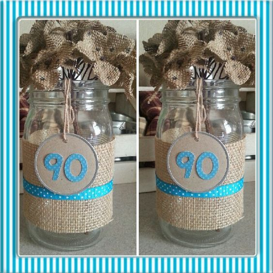 90th Birthday Centerpieces Fun Table Decorations For A 90th Birthday Party 90th Birthday Party Decorations 90th Birthday Decorations 90th Birthday Centerpiece