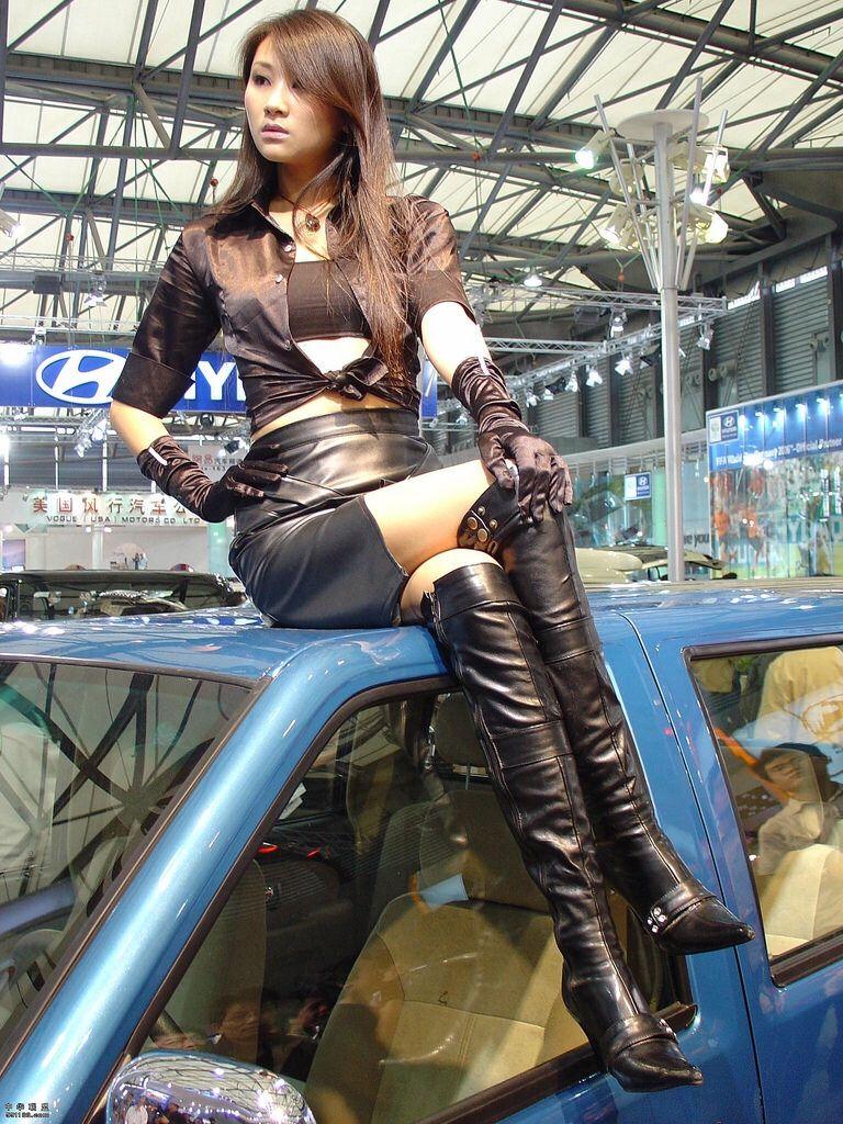 Thigh high boots | Asian Beauties | Thigh high boots ...