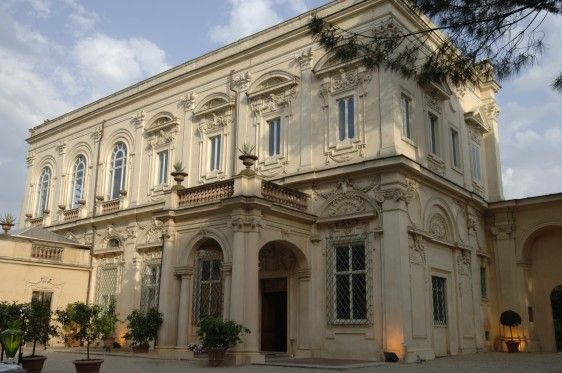 The Villa Aurelia American Academy In Rome Villa House Exterior