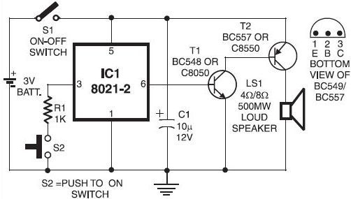 [DIAGRAM] Door Bell Diagram