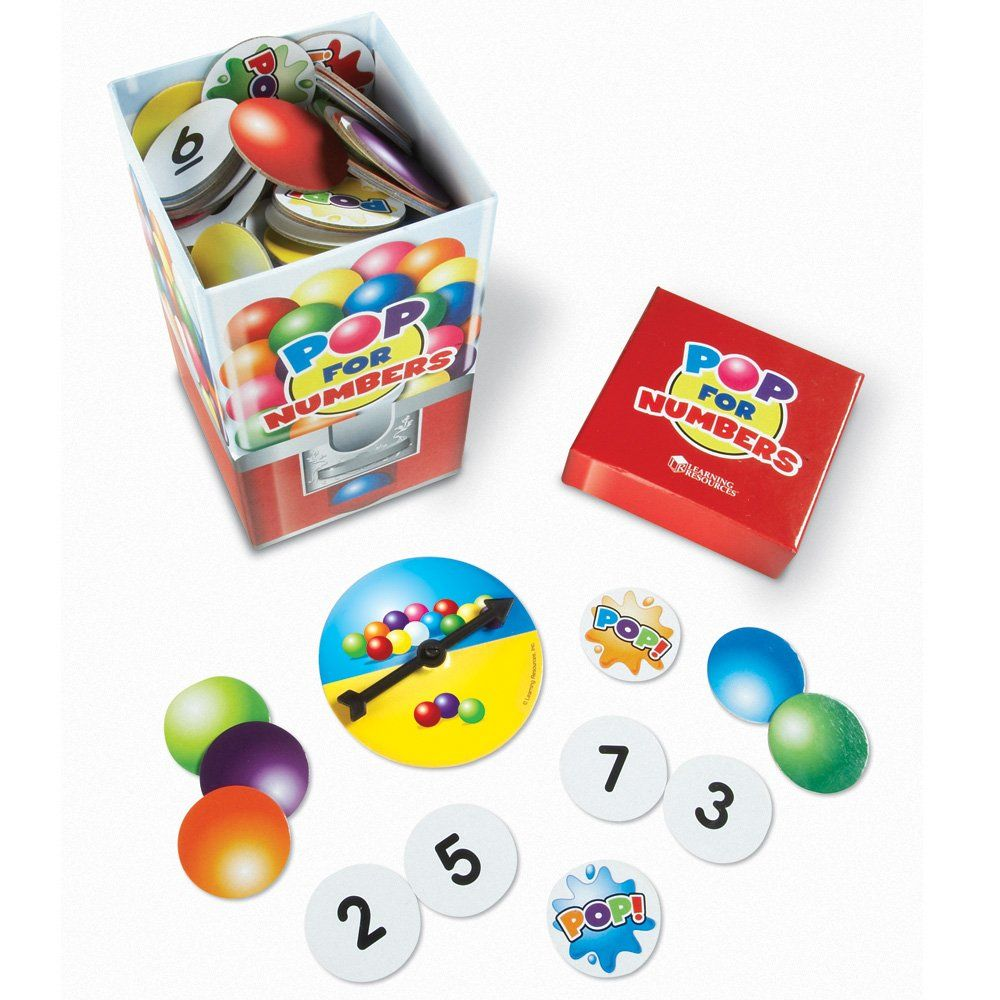 Amazon.com: Learning Resources Pop For Numbers Game: Toys & Games