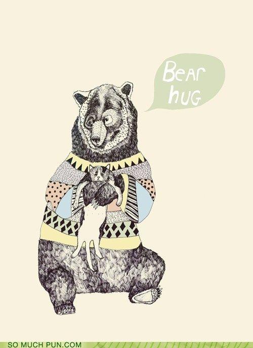 I wish I was a bear