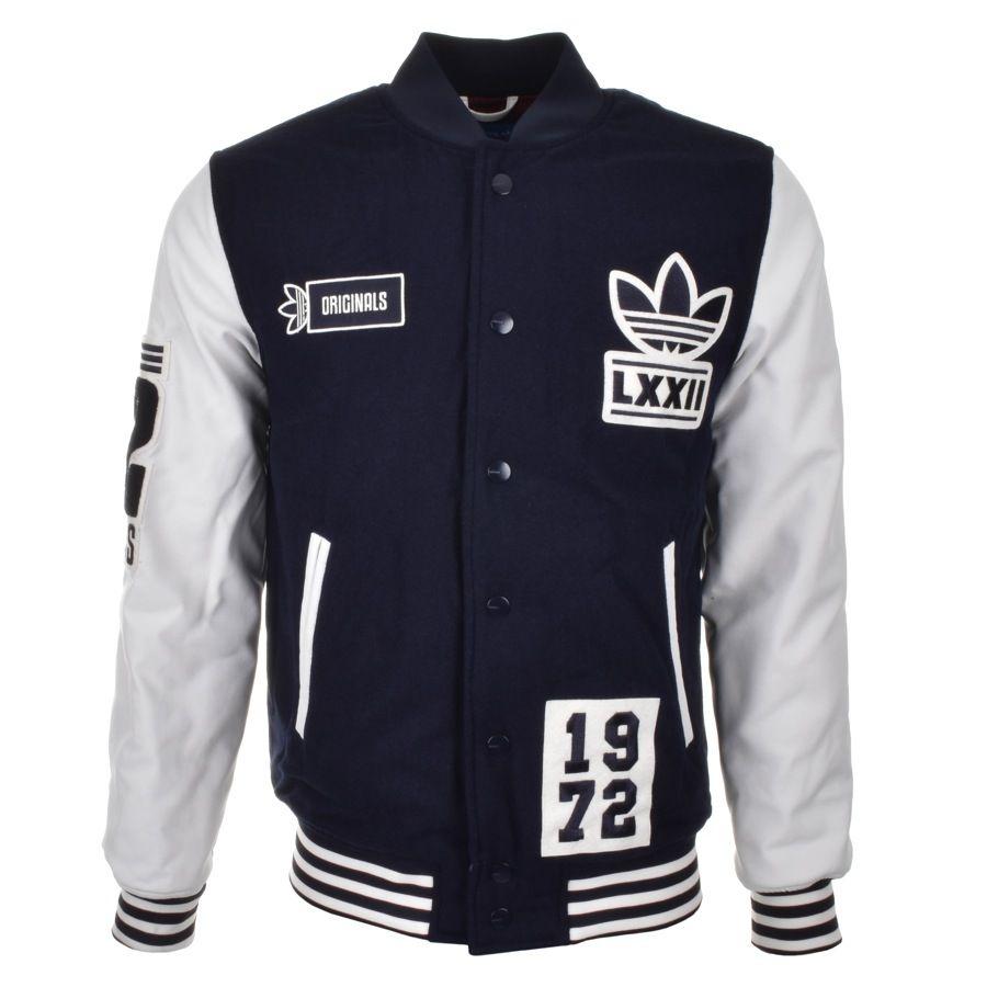 adidas originals bomber jacket black