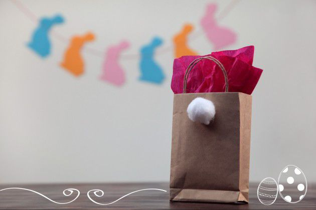 Easter gift ideas craft paper bags candy kids bunny tail cotton ball easter gift ideas craft paper bags candy kids bunny tail cotton ball negle Image collections
