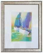Art Gallery at Maine Cottage | Blue Sails