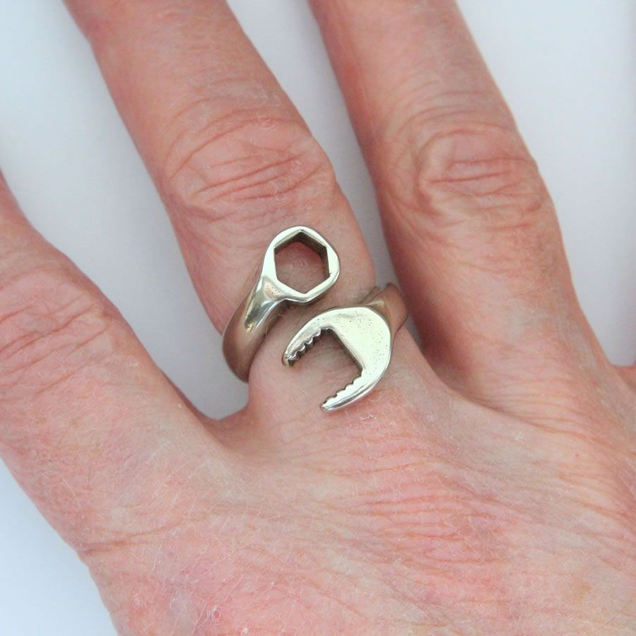 Wrench Ring Is The Manliest Jewelry For Real Mechanics | Creative ...