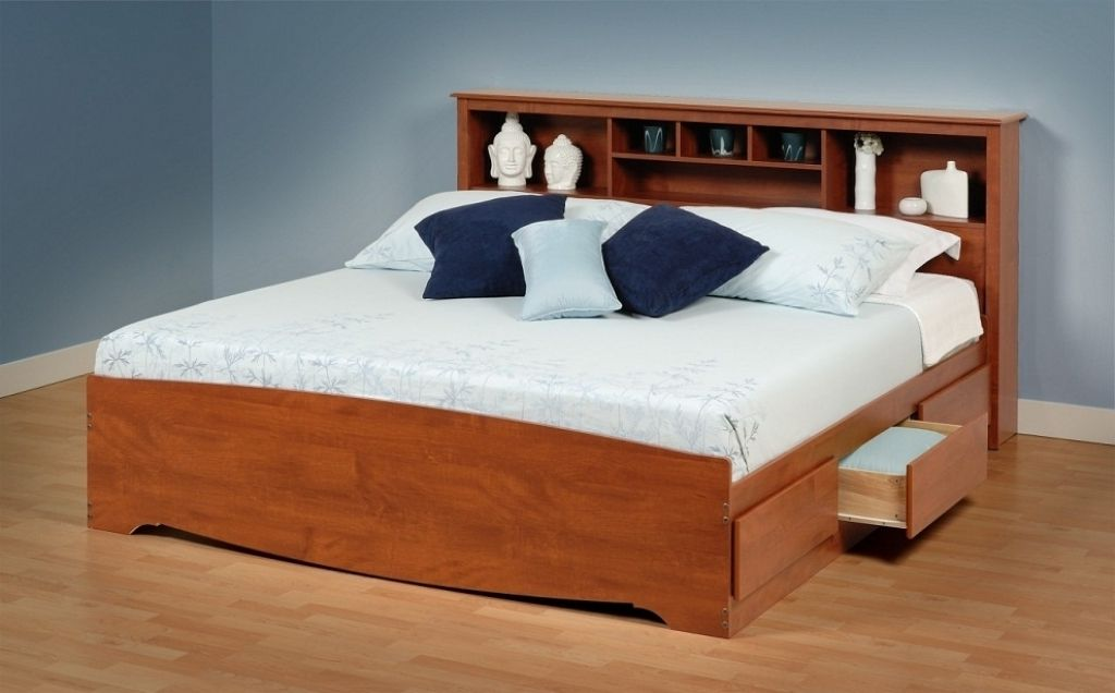 California King Holz Bett Rahmen Bett-frames sind bei weitem eines ...