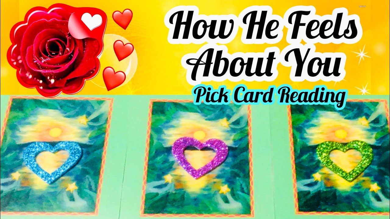 Pick A Card How He Feel About You Love Messages Timeless Magic