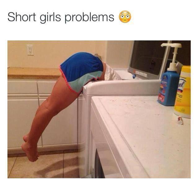 Short Height #Funny, #Girls, #Short, #WashingMachine ...