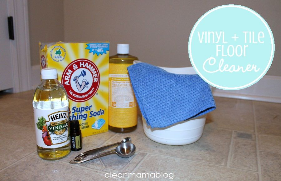 Diy Homemade Cleaners Vinyl Tile Cleaner For The