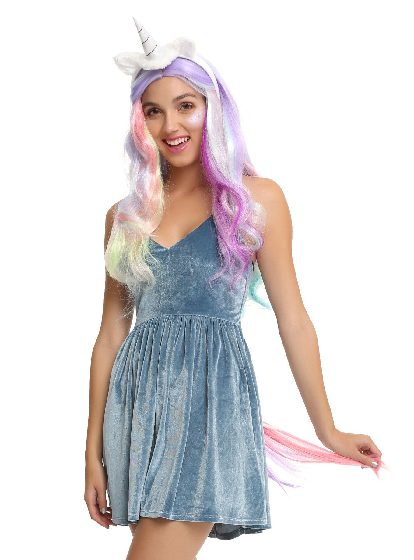 Complete your magical transformation with this accessory kit featuring a unicorn horn and ears headband and  sc 1 st  Pinterest & Unicorn Costume Accessory Kit | Ear headbands Unicorns and Costume ...