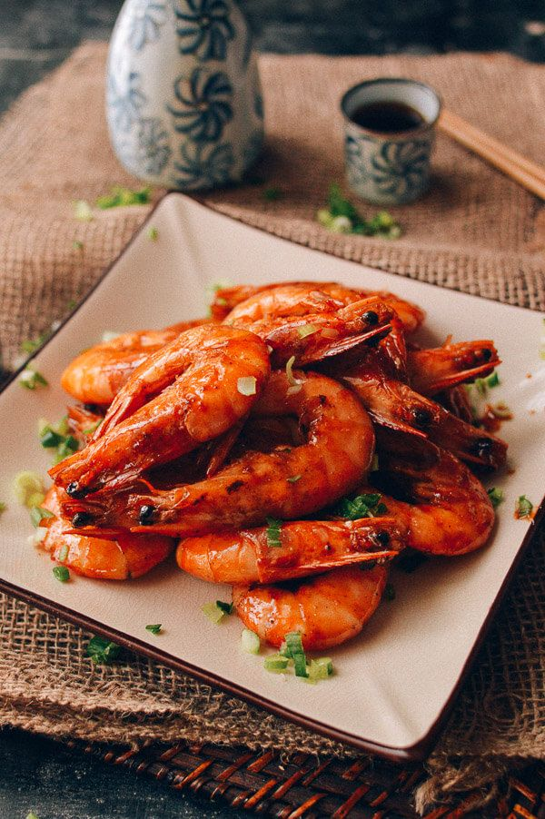 Shanghai Shrimp Stir Fry You Bao Xia 油爆虾 Recipe Seafood Recipes Halal Recipes Recipes