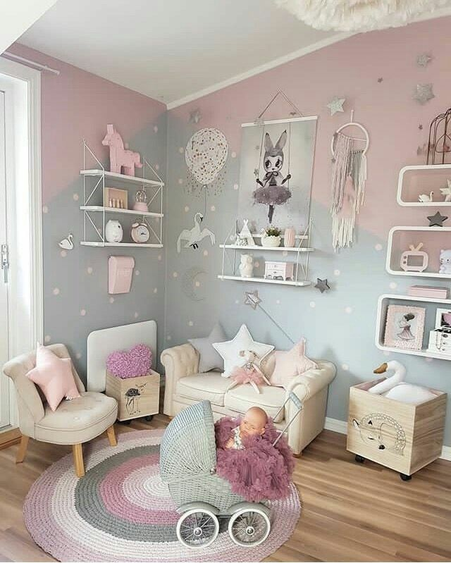 Photo of – (notitle) – # childrensroomattic #childrensroomboho #childrensroomcolors #chil …