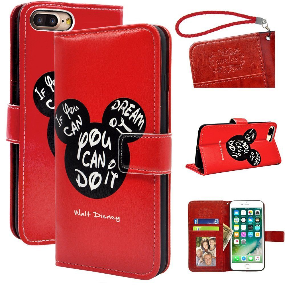 Disney Discovery Assorted Disney Wallet Cell Phone Cover