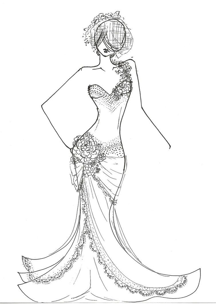 vogue coloring pages fashion design coloring pages for girls - Fashion Coloring Pages