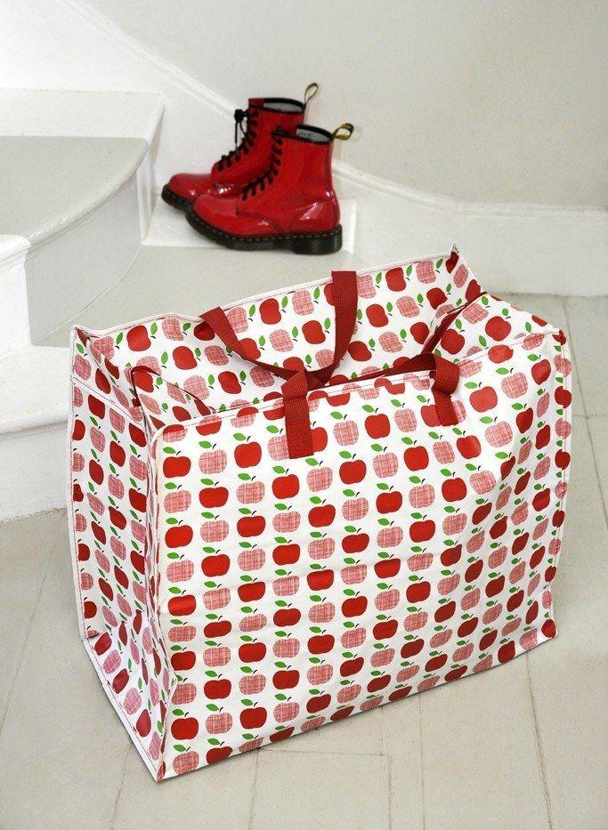 Apples Design Jumbo Storage Bag Bag Storage Apple Design