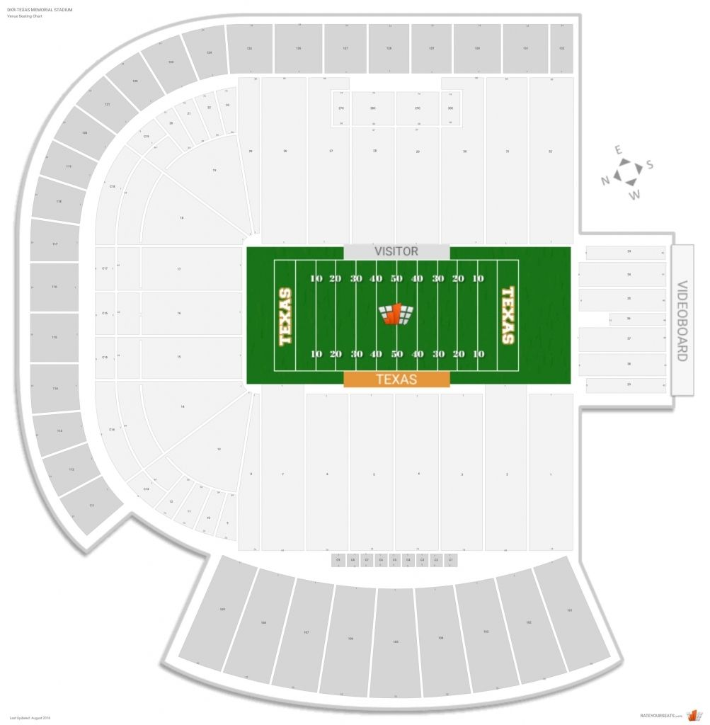 The Most Elegant And Also Gorgeous Ut Stadium Seating Chart