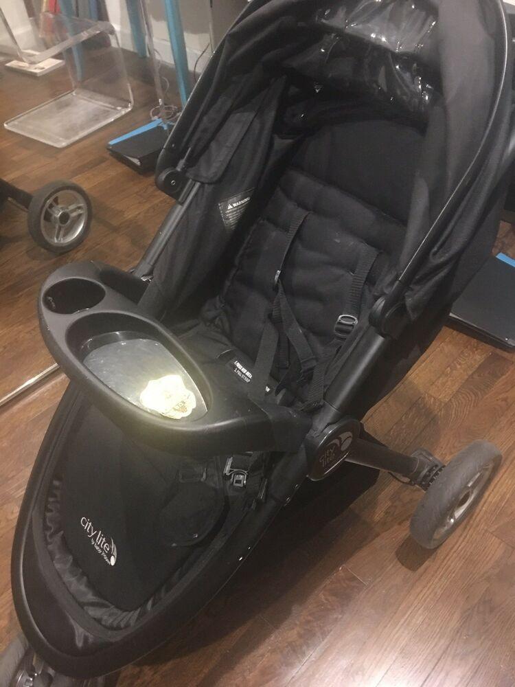 Baby Jogger City Lite Stroller Black Stroller Blackstroller