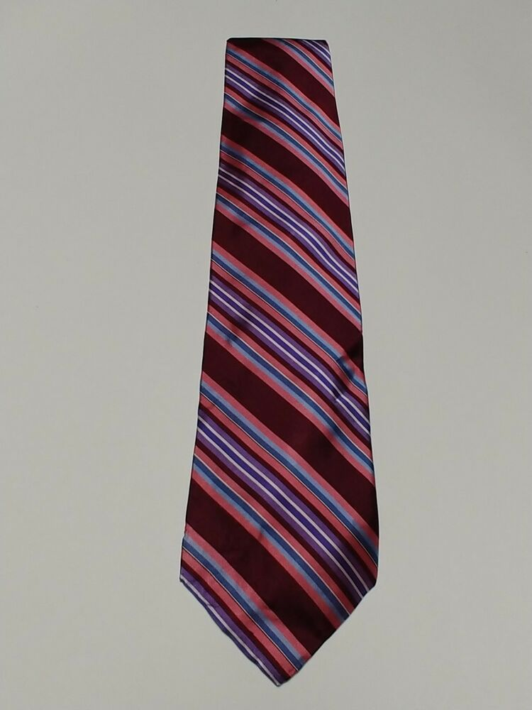 315e93c5da8d Ted Baker London tie with multicolor stripes 100% imported silk with price  tag.  fashion  clothing  shoes  accessories  mensaccessories  ties (ebay  link)