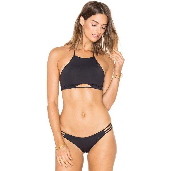 morgan halter bikini