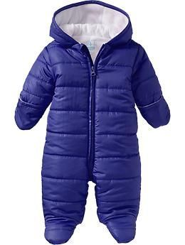 45fa3cfc03729b Quilted Performance Fleece-Lined Snowsuits for Baby
