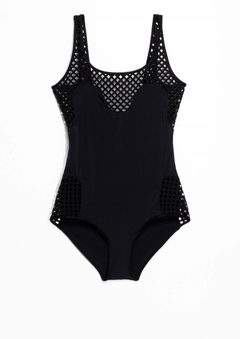 & Other Stories | Cut-Out Swimsuit