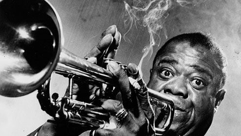 Famous African Americans In The World History Louis Armstrong Jazz Artists Jazz