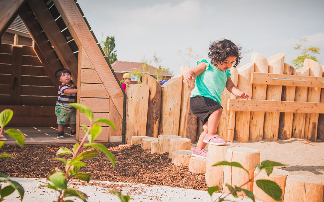 St. Bernadette Elementary School Natural Playground