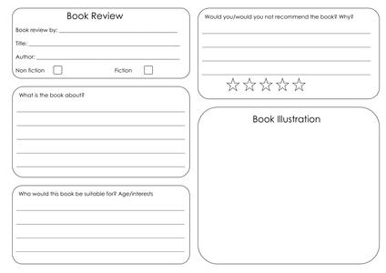 BookReviewTemplateDoc  Classical Conversations