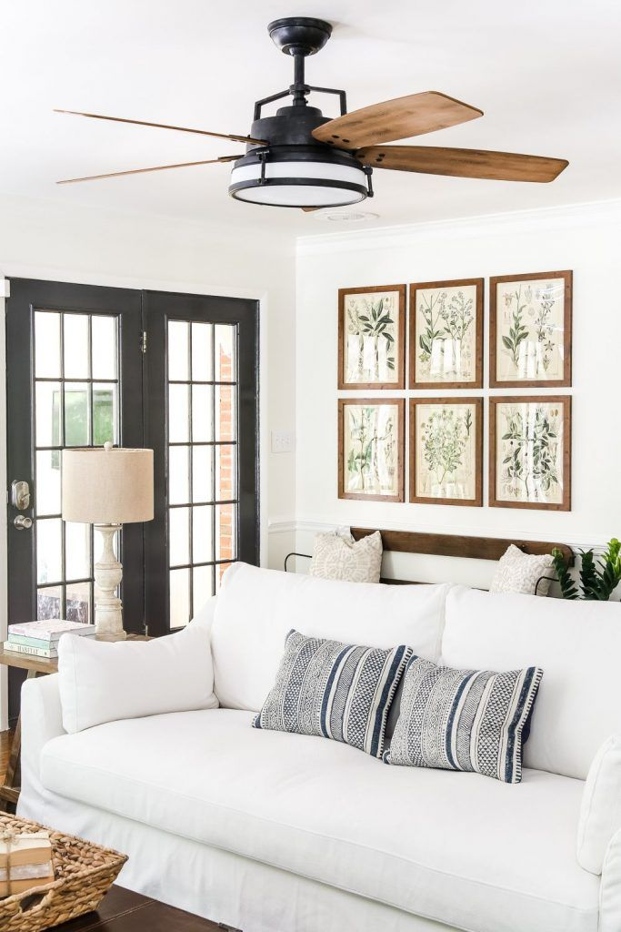 Best Ceiling Fans Ideas For Your Dream Home Enjoy Your Time Farm House Living Room French Country Decorating Living Room French Country Living Room