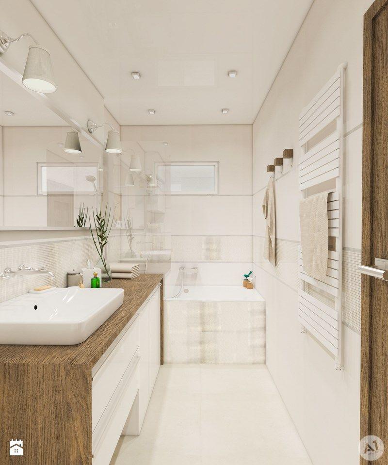 Zdjecie Lazienka Styl Nowoczesny Small Bathroom Small Master Bathroom Bathroom Model