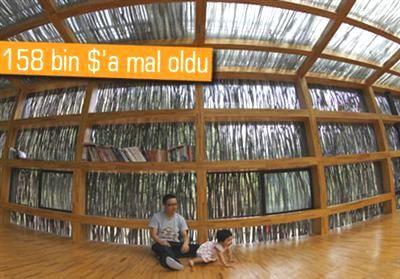 Elektrik Kullanmayan Çevreci Kütüphane