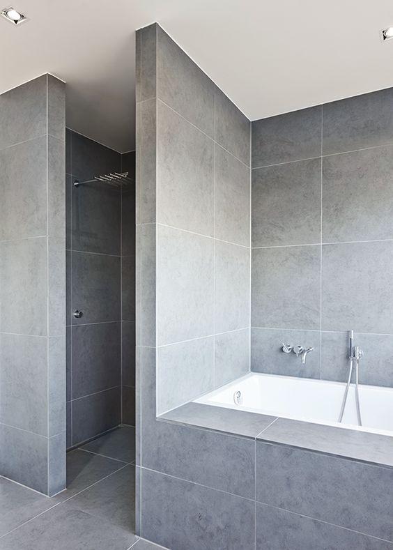modern functionalism maison badezimmer zeitgen ssische badezimmer et bad. Black Bedroom Furniture Sets. Home Design Ideas