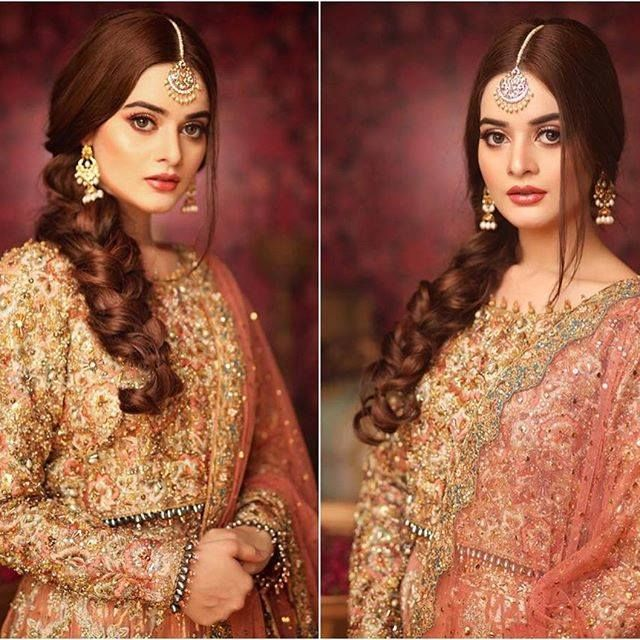 Right Or Left? Gorgeous @minalkhan.official Stuns In This