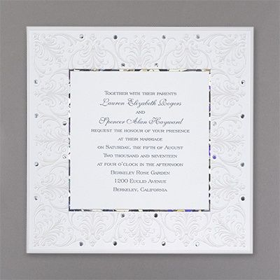 Jeweled Love Invitation 40 OFF httpmediapluscarlsoncraft