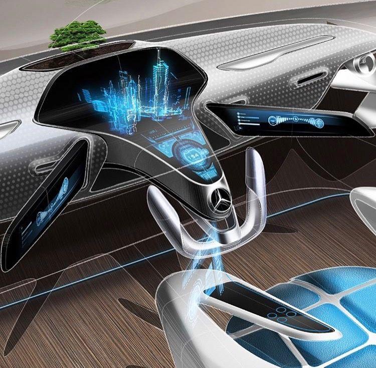 In Side Design Car Interior Design Car Interior Sketch