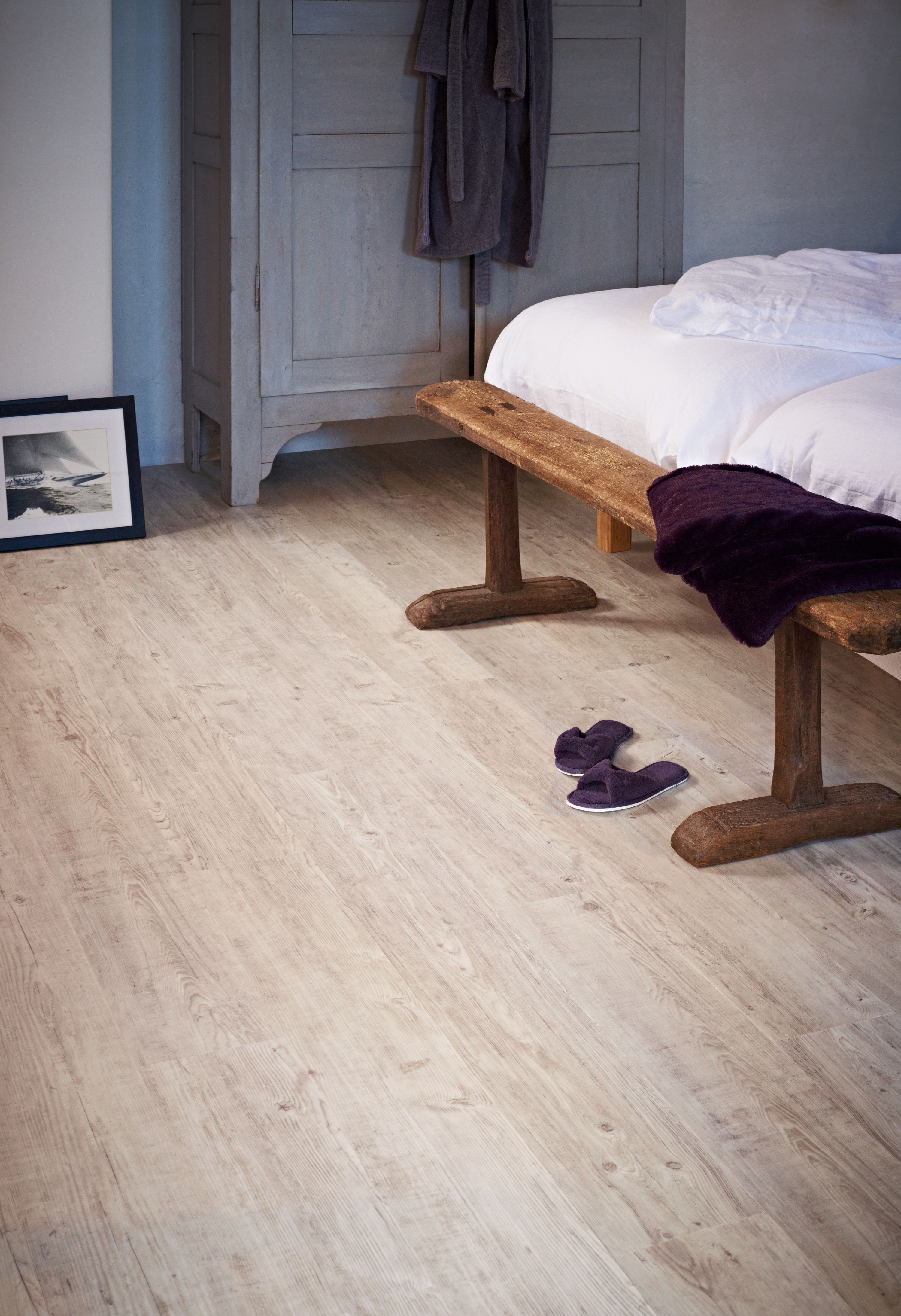 moduleo latin pine rustic bedroom with luxury vinyl plank