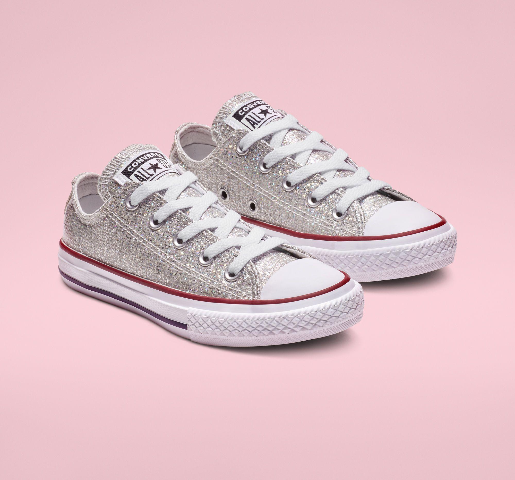 Kids converse shoes, Glitter converse