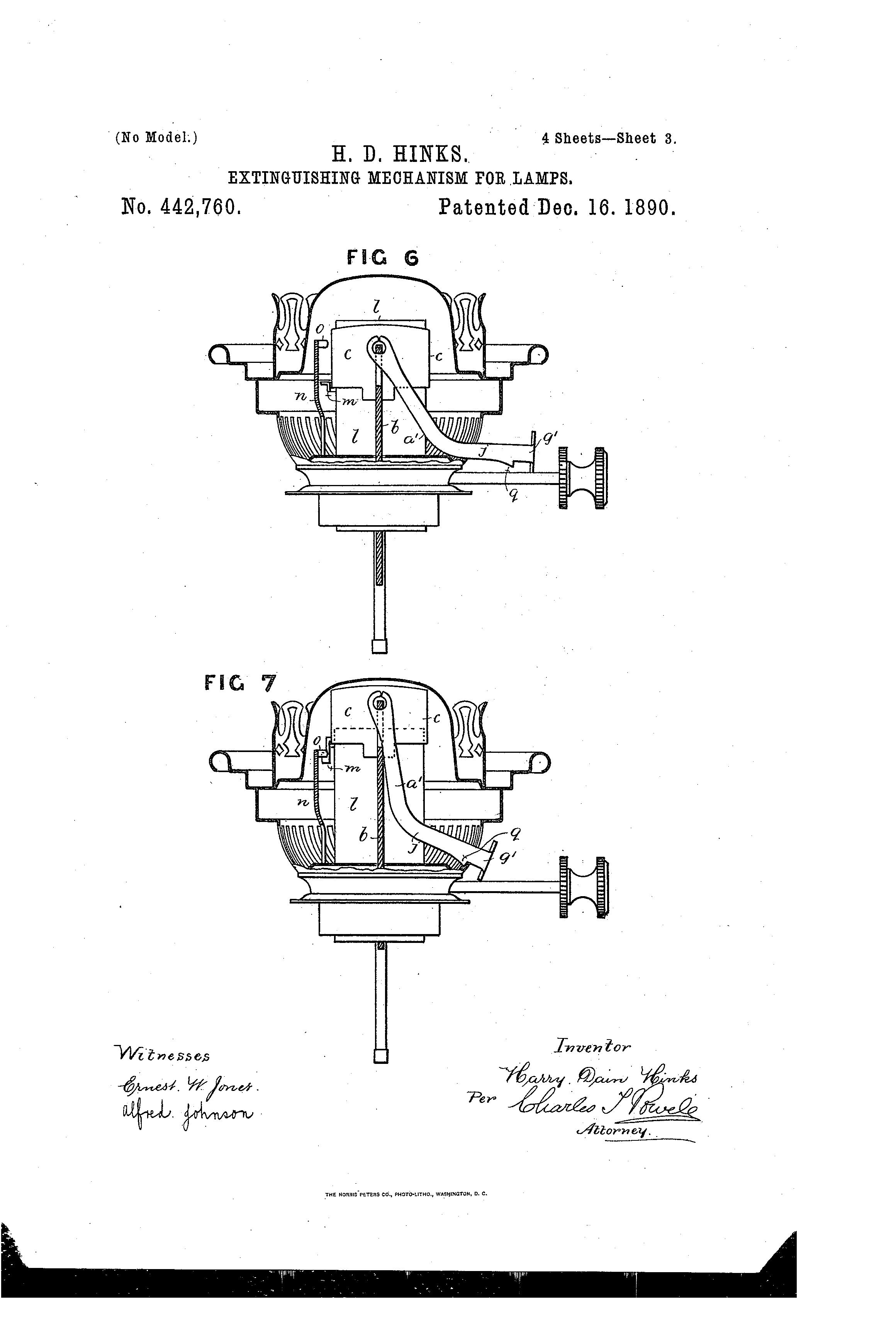 Patent US442760 - hikes