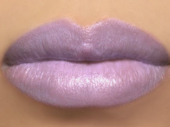 Light Purple Vegan Lipstick Sugared Violet Light Violet