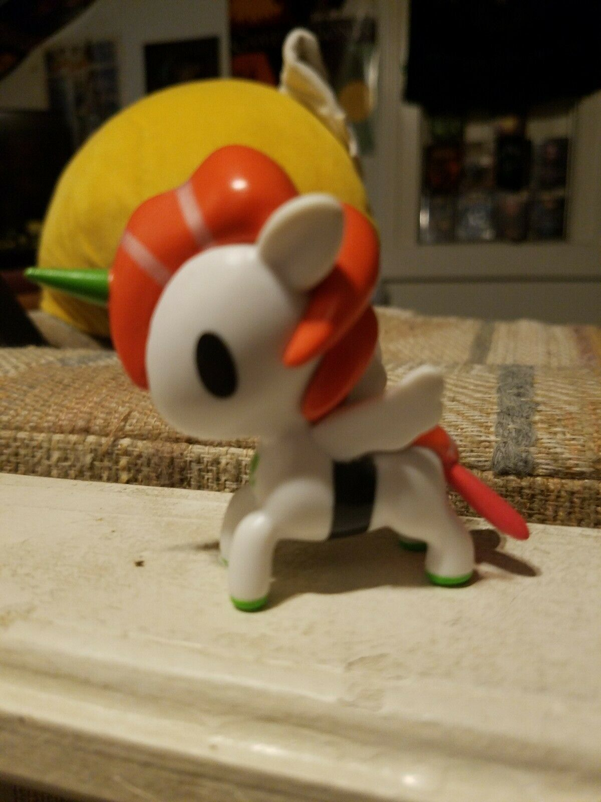 "Tokidoki GUDETAMA SERIES 1 DONUTELLA SUSHI CAR 3/"" Mini Vinyl Figure Toy"