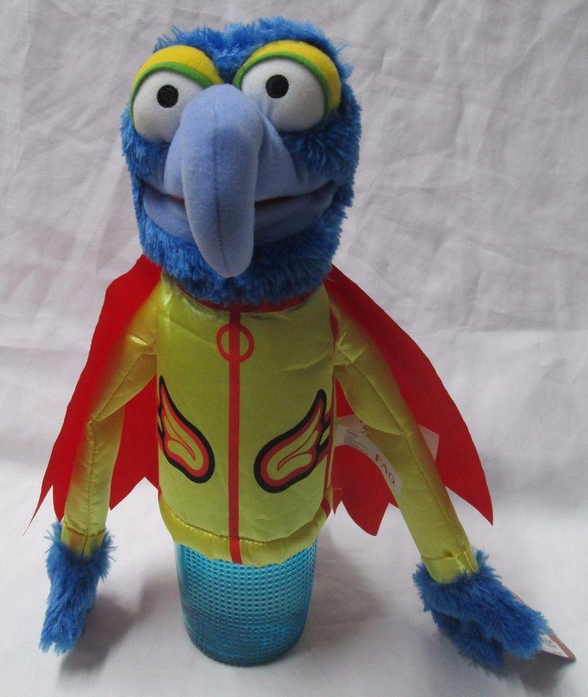 FAO Schwarz Disney Muppets Most Wanted Gonzo Plush Hand