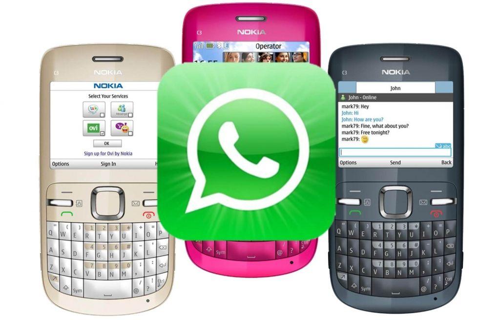 واتساب تمدد العمل على هواتف نوكيا وبلاك بيري القديمة Phone