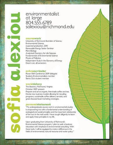 Resume Design For Student Resume By Jolieodell Via Flickr Resume Design Unique Resume Design Student Resume
