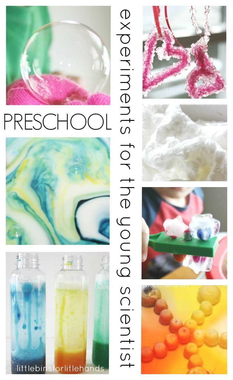 Preschool Science Experiments and Science Activities | Preschool ...