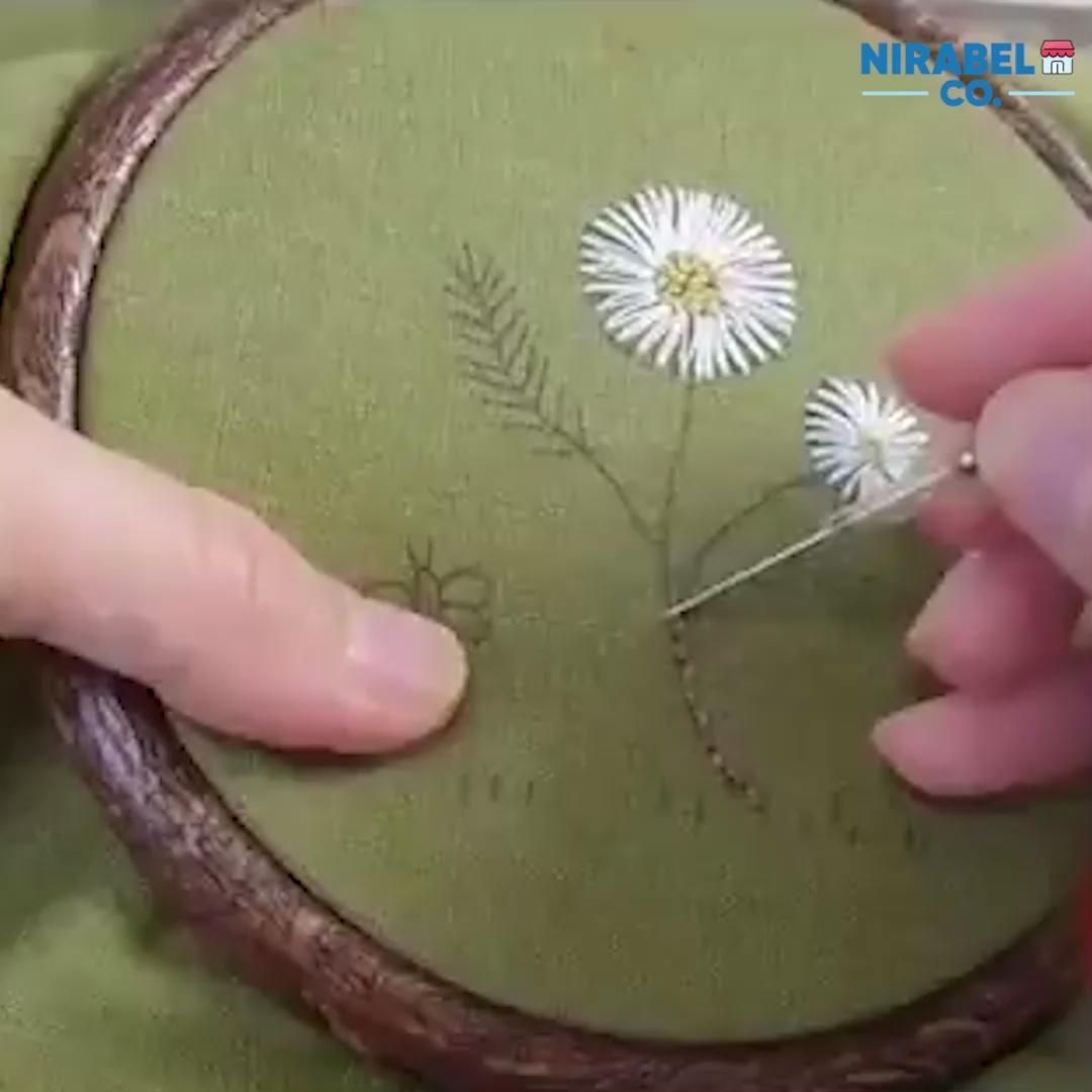 Photo of Simple Embroidery Punching Needles