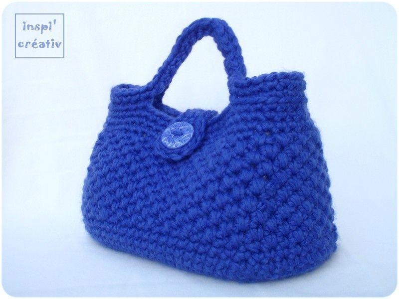 Tuto sac hooked zpagheti points au crochet pinterest - Tuto sac a main ...